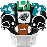 NFL1-JAC - Football Bouquet - Jacksonville