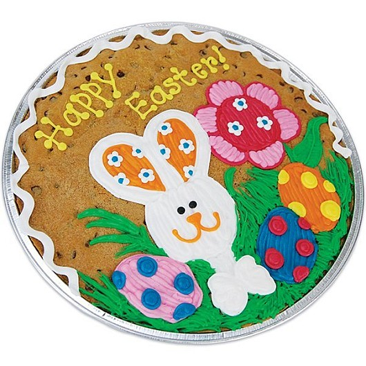 Patchwork Bunny Cookie Cake