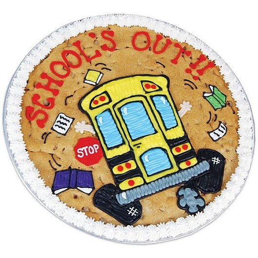 Cake Design Programs : School s Out Cookie Cake Cookies by Design