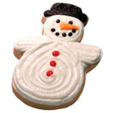 CFC3 - Christmas Snowman Cookie Favors