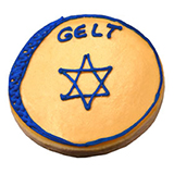 CFC5 - Hanukkah Gelt Cookie Favors