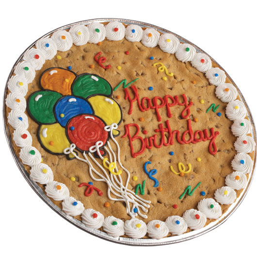 Birthday Cookie Cake Cookie Cake Delivery Cookies by ...