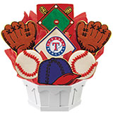MLB1-TEX - MLB Bouquet - Texas Rangers