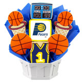NBA1-IND - Pro Basketball Bouquet - Indiana