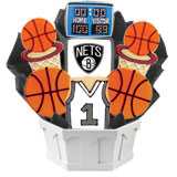NBA1-BKN - Pro Basketball Bouquet - Brooklyn