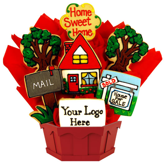 New Home Cookie Bouquet Cookies By Design