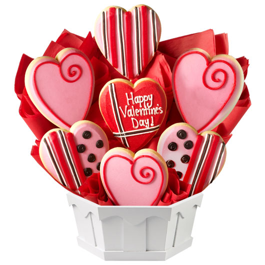 valentine's day gifts  valentine cookies  cookies by design, Beautiful flower