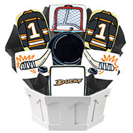 NHL1-ANA - Hockey Bouquet - Anaheim