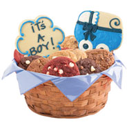 W247 - Bouncin' Baby Boy Basket