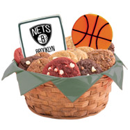 WNBA1-BKN - Pro Basketball Basket - Brooklyn