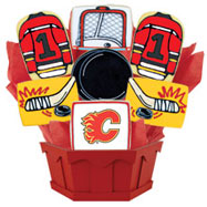 NHL1-CGY - Hockey Bouquet - Calgary