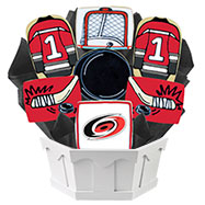 NHL1-CAR - Hockey Bouquet - Carolina