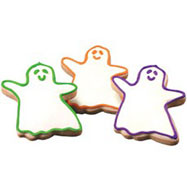 CFH1 - Halloween Ghosts Cookie Favors