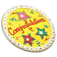 PC8 - Congratulations Iced Cookie Cake