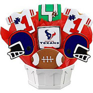 NFL1-HOU - Football Bouquet - Houston