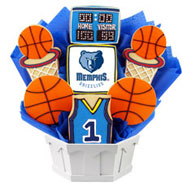 NBA1-MEM - Pro Basketball Bouquet - Memphis