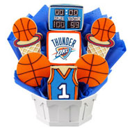 NBA1-OKC - Pro Basketball Bouquet - Oklahoma City