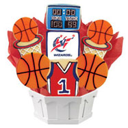 NBA1-WAS - Pro Basketball Bouquet - Washington