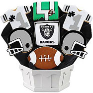 NFL1-OAK - Football Bouquet - Oakland