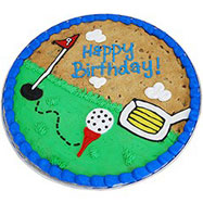 PC32 - Tee Time Happy Birthday Cookie Cake