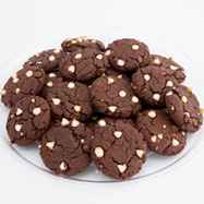 TRY20-WCC - Two Dozen Decadent Chocolate Gourmet Cookie Tray
