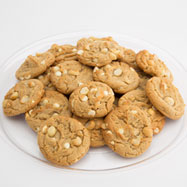TRY20-WCM - Two Dozen White Chocolate Macadamia Gourmet Cookie Tray