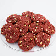 TRY20-RV - Two Dozen Red Velvet Gourmet Cookie Tray