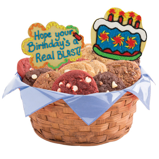 Birthday Gift Baskets Send Birthday Wishes With Gift: Birthday Blast Gift Basket