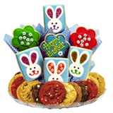 GFB308 - Gluten Free Easter Patchwork Bunnies BouTray™