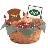 WNFL1-NYJ - Football Basket - New York (Green)