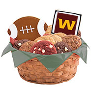WNFL1-WAS - Football Basket - Washington