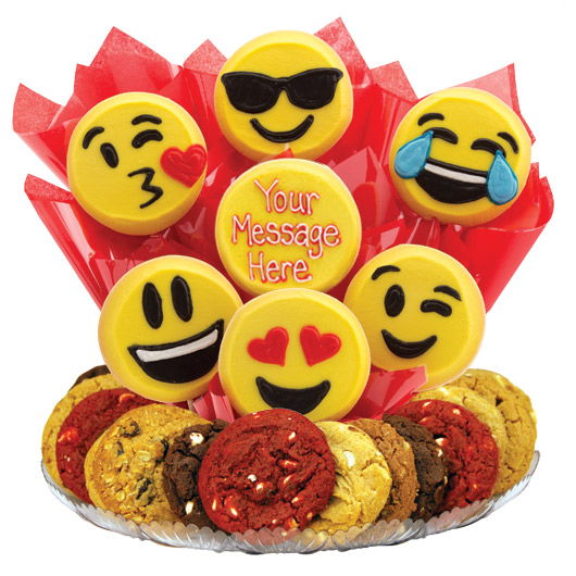Sweet Emojis Cookie Gifts