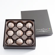 CBT94 - Chocolate Peanut Butter Truffles - 9 Count