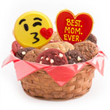 W456 - Sweet Emojis - Best. MOM. Ever. Basket