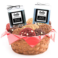 AG26 - Gourmet Combo Basket - 1 Dozen with Nut Set