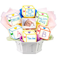 PH109 - Photo Cookie -  Baby Blocks