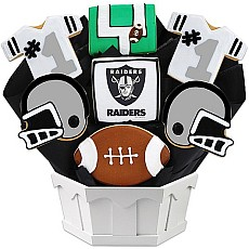 NFL1-LVR - Football Bouquet - Las Vegas