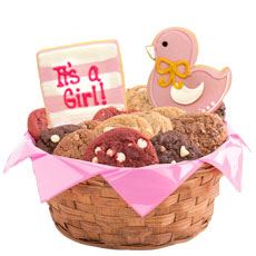 W471 - It's a Girl Basket