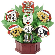 A496 - Christmas Puppies