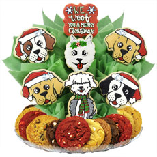 B496 - Christmas Puppies BouTray™
