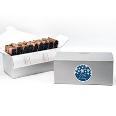 BRHH9 - Happy Holidays Brownie Gift Box – 9 count