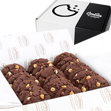 BX9-WCC - Box of Two Dozen Decadent Chocolate Gourmet Cookies