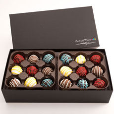 CBT36 - Assorted Chocolate Truffles - 36 Count