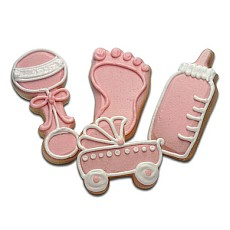 CFA3 - Baby Girl Cookie Favors