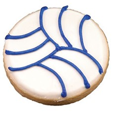 CFG30 - Sports Volleyball Cookie Favors