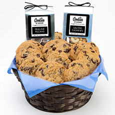 AG27-OAT - Oatmeal Raisin Gourmet Combo Basket - Two Dozen
