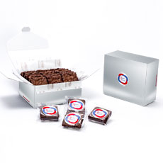 LBBR18 - Custom Logo Box – 18 Gourmet Brownies