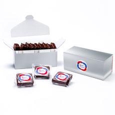 LBBR9 - Custom Logo Box – 9 Gourmet Brownies