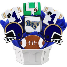 NFL1-LAR - Football Bouquet - LAR