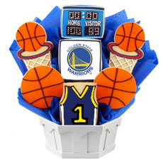NBA1-GSW - Pro Basketball Bouquet - Golden State